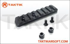 PTS Enhanced Rail Section Keymod 7 Slots Polymer black