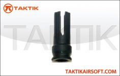 Taktikal 4 tip flash hider PLA Black