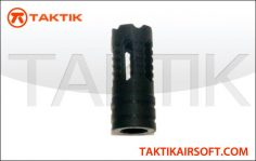 Taktikal Chronos flash hider PLA Black