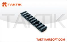 Taktikal rail segment 95mm plastic Black