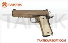 KWA 1911 MKII PTP Metal Tan