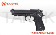 KWA M9 PTP Tactical Metal Black