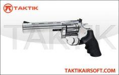 ASG Revolver 715 6 Dan Wesson Metal Silver