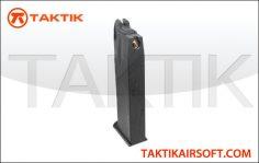 KWA 226 PTP Series 25 round GBB Mag Metal Black