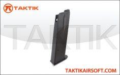 KWA KZ.75 22 round GBB Mag Metal Black