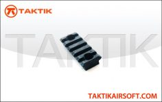 Taktikal rail segment 55mm plastic Black
