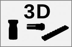 3Dパーツ